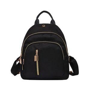 NEW nylon mini black backpack adorable